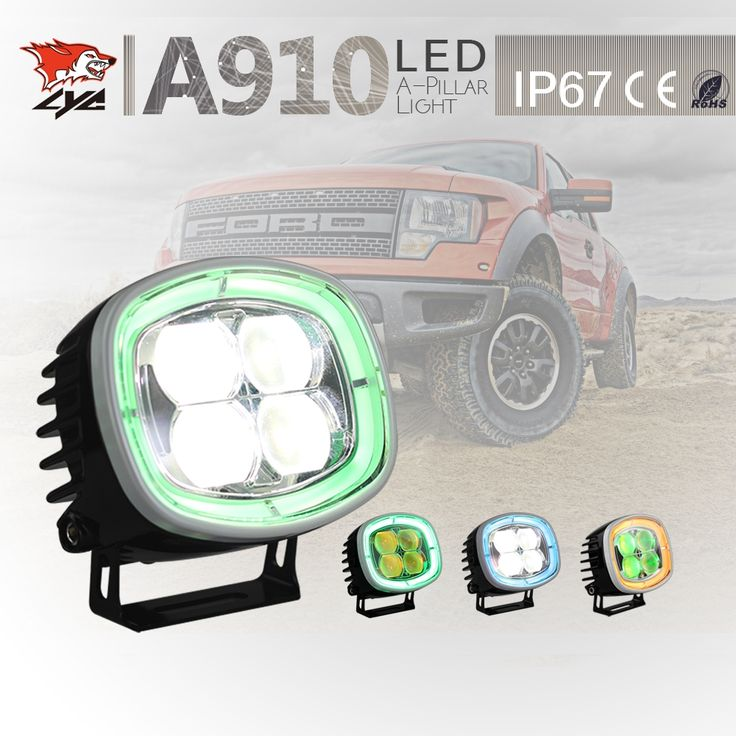 132.22$  Watch now - http://aliu4p.worldwells.pw/go.php?t=32781654020 - One Set Price LYC Auto Replacement Parts Operate Daytime Running Lights Led Off Road Lights for Trucks Best Lights Canada