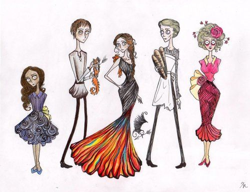 If Tim Burton did The Hunger Games...