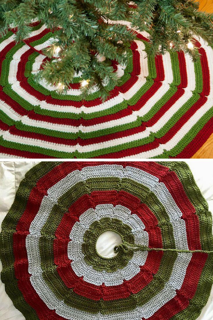 Mejores 43 imágenes de crochet navidad en Pinterest | Patrones de ...