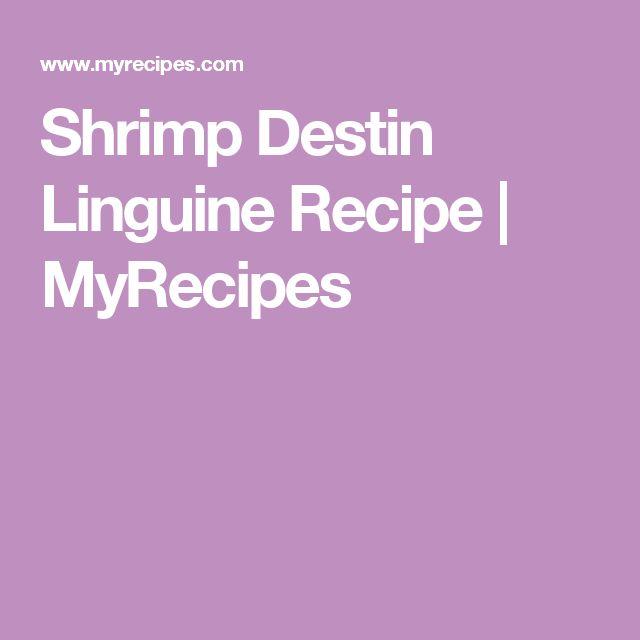 Shrimp Destin Linguine Recipe | MyRecipes