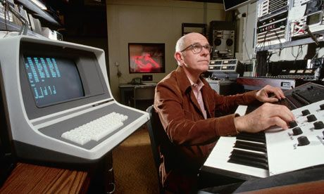 "People had been using computers to play tunes for a few years, but Mathews was the first to write a computer music program. He said that ""computer performance of music was born in 1957 when an IBM 704 played a 17-second composition on the Music I program, which I wrote"". At the time, computers were too slow to play compositions in ""real time"". It took an hour to create 17 seconds of music. Mathews recorded it to tape and then speeded up the tape to play it back."