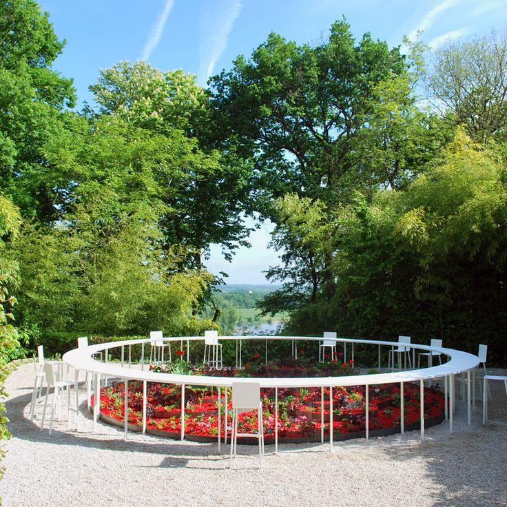 NAS architecture bloom pavilion international garden festival Chaumont