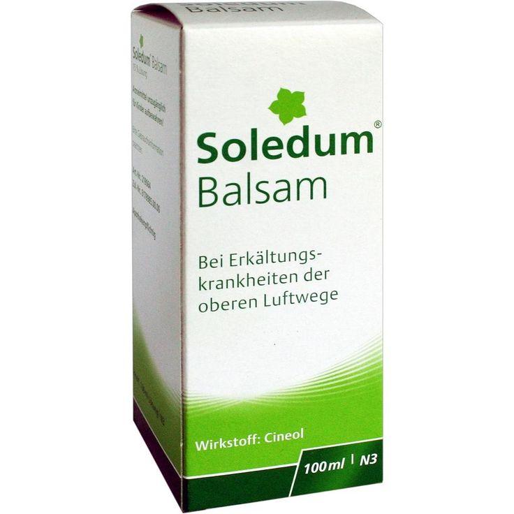 SOLEDUM Balsam flüssig:   Packungsinhalt: 100 ml Flüssigkeit PZN: 03407021 Hersteller: MCM KLOSTERFRAU Vertriebsgesellschaft GmbH Preis:…