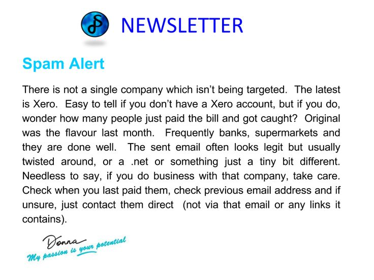 Check out www.donna-stone.com.au #BusinessCoaching #Newsletter #SpamAlert