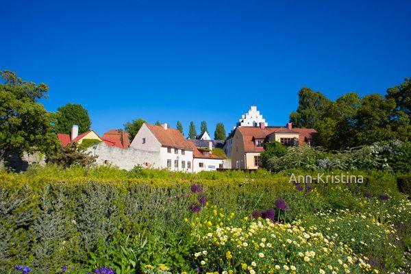 Gotland, Visby, Sweden, Almedalen, park, garden