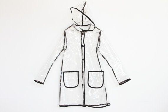 EL NINO SALE plastic p o p see through hooded by napkinitems