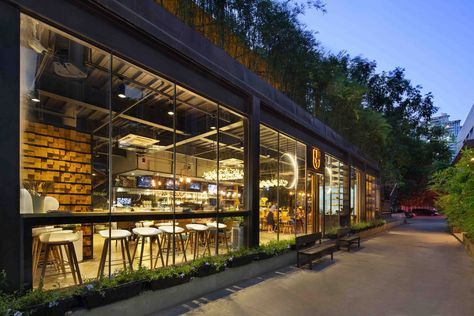 Gallery of Shenzhen Maoshuli Cafe / Elsedesign - 23