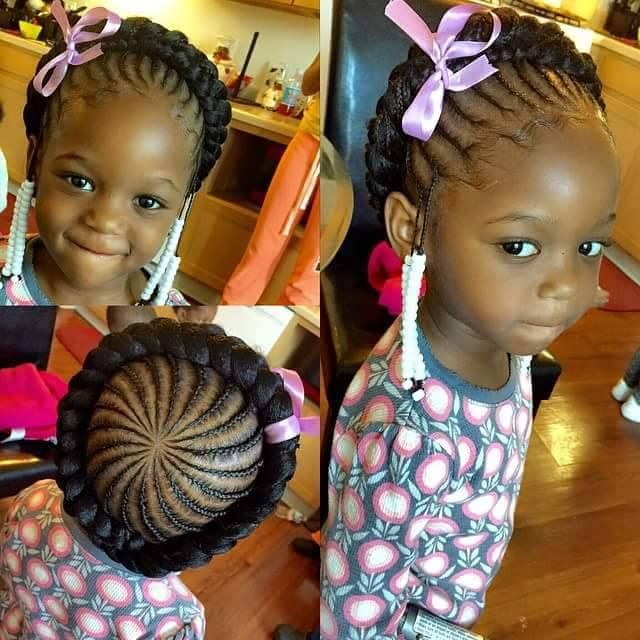 175 best little girl hairstyles images on pinterest natural little girl hairstyle braided halo ccuart Choice Image