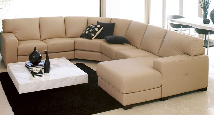 Anguilla Modular Lounge - Living Room Couch In White | Home