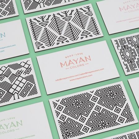 © TOMMASO TARASCHI business card design pattern