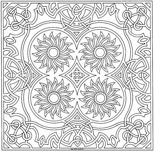 interesting coloring pages