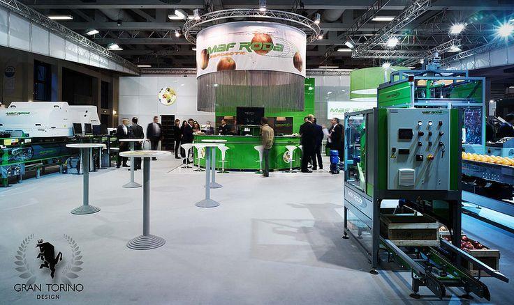 Maf Roda exhibition stand. Fruit Logistica Berlin Germany. Gran Torino Design, 2014