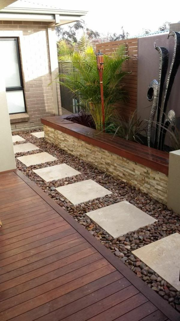 64 best rumahku images on Pinterest Small gardens, Decks and - Dalle Pour Parking Exterieur