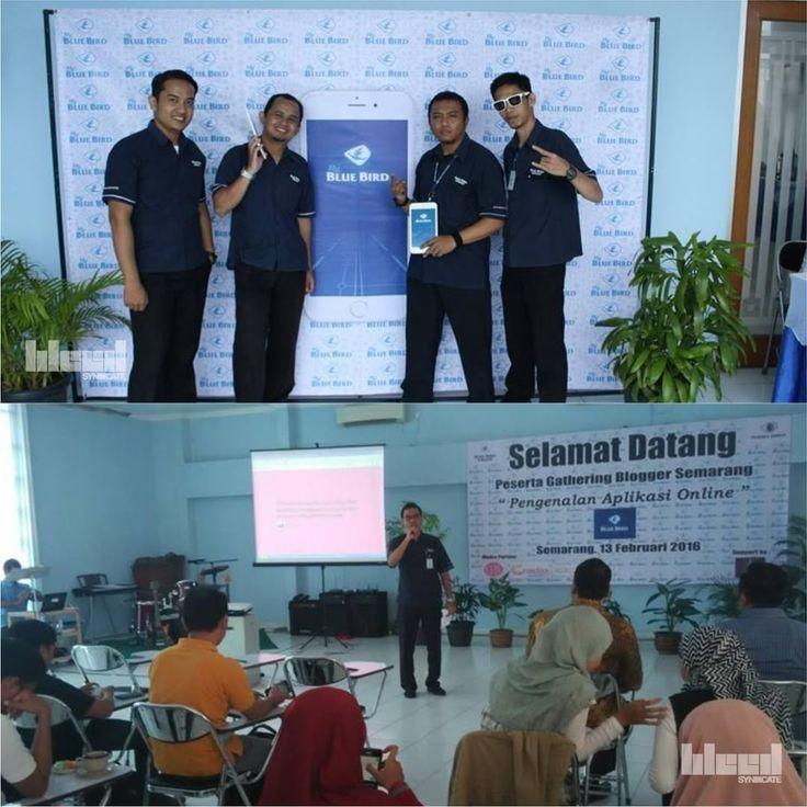 Photos of Bluebird Semarang Gathering Event 2016 #backdrop #designed by @bleedsyndicate © 2016  #backdrop #mmt #design #graphicdesign #desain #desaingrafis #gathering #event #eventsemarang #semarang #bleed #syndicate #bleedsyndicate #2016 #bleedsyndicate2016