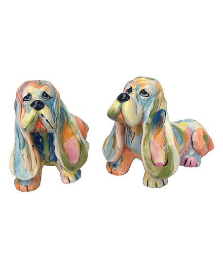 Delightful dog designs highlight these salt and pepper shakers that are sure to be your best friends at the dining table.