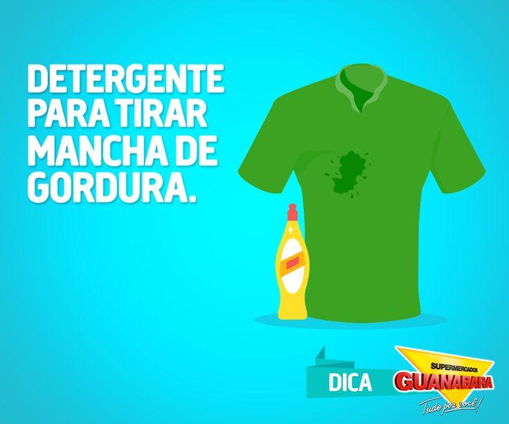 Como tirar manchas de gordura — Supermercados Guanabara