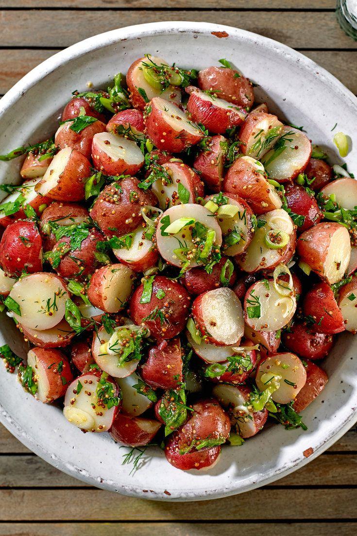 Red Potato Salad With Dijon Mustard
