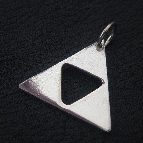 Silver Triforce pendant
