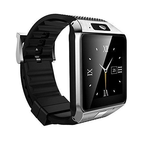 Smart Watch Cell Phone iPhone Android Smartphones HD Camera Bluetooth Black New #SmartWatchCellPhoneiPhoneAndroid