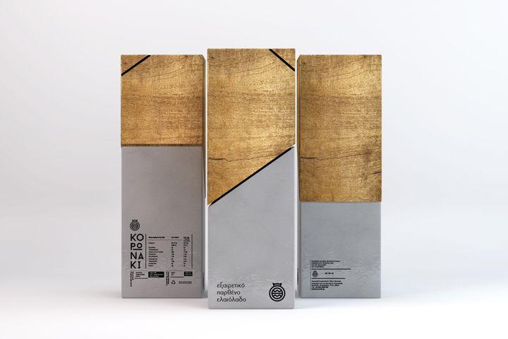 CORONA Greek Olive Oil packaging by Thomas Kiourtsis packaging branding