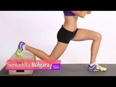 Sentadilla búlgara para piernas y glúteos | Muévete | Salud 180 - YouTube
