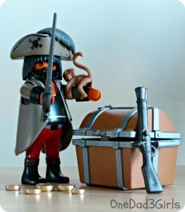 1.2.3 Pony Wagon & Gloomy Pirate Playmobil Review