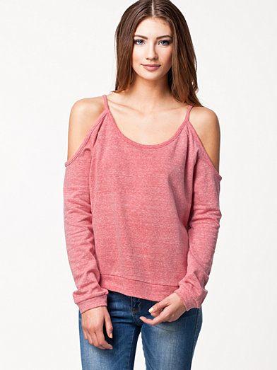 Open Sleeve Sweatshirt - Nly Trend - Rosa - Gensere - Klær - Kvinne - Nelly.com