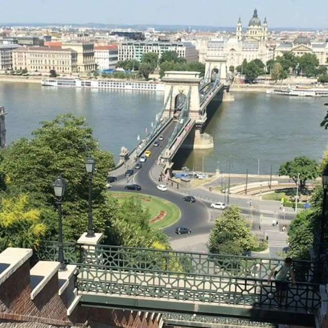 Funicular ride from Buda Hill #budahillsbudapest #travelbudapest #funicularride #traveltheworld #siteseeing #tourist #enjoythelittlemoments