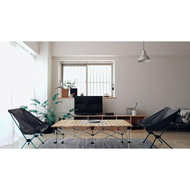 殺風景/コールマン/ニトリ/IKEA/無印良品/THENORTHFACE…などのインテリア実例 - 2017-10-09 13:19:34 | RoomClip(ルームクリップ)
