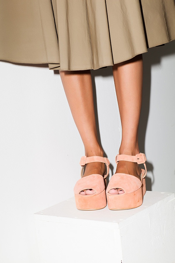 peach flatforms inspiration post