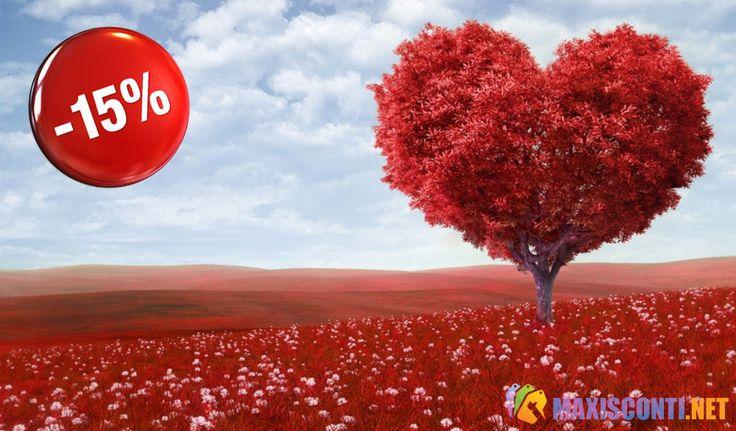In vista della festa di San Valentino, FloraQueen, uno dei principali siti per la consegna di fiori freschi di qualità, offre uno sconto del 15% sui suoi prodotti floreali. Scopri il codice da utilizzare: http://maxisconti.net/offerta/con-floraqueen-sconto-15-per-cento-per-san-valentino/