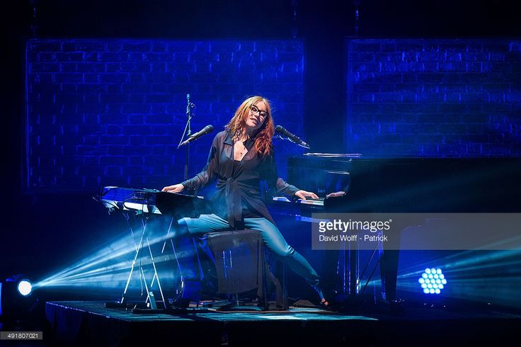 Tori Amos performs at Le Grand Rex on May 17, 2014 in Paris, France.