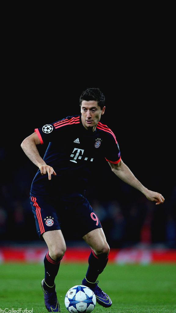Robert Lewandowski. Lock screen.