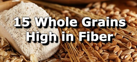 Image for 15 Whole Grains High in Fiber