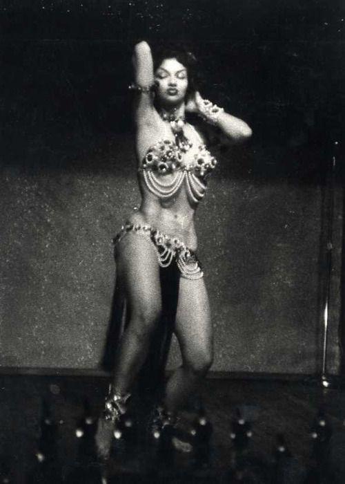 cuban bombshell Chelo Alonso, photo by George S. Zimbel. Louisiana 1955: Photos, Bourbon Street, New Orleans, Vintage, Chelo Alonso, Chelo Bourbon, George Zimbel, Actresses, Black Girls