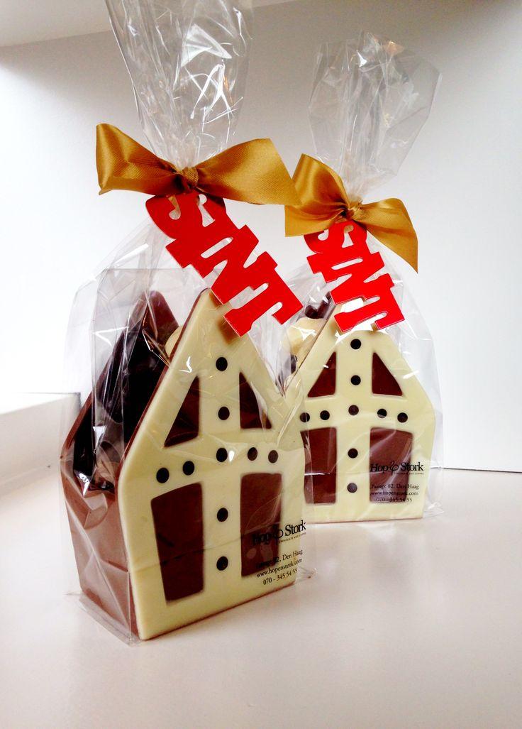 Trippel trappel trippel trap... #Sintcadeau #Chocolade #HopenStork