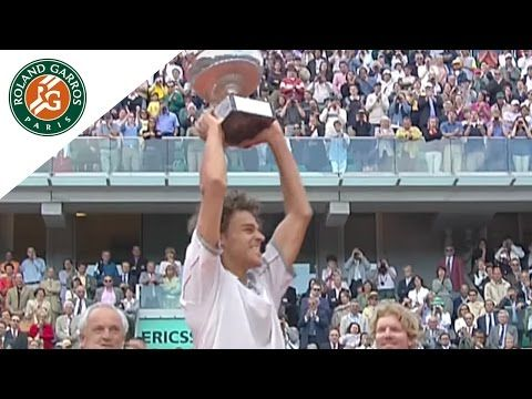 Gustavo Kuerten, king of hearts at Roland Garros