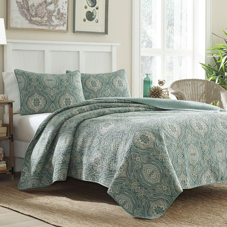 Tommy Bahama Turtle Cove Quilt Set Beddingstyle Bedding