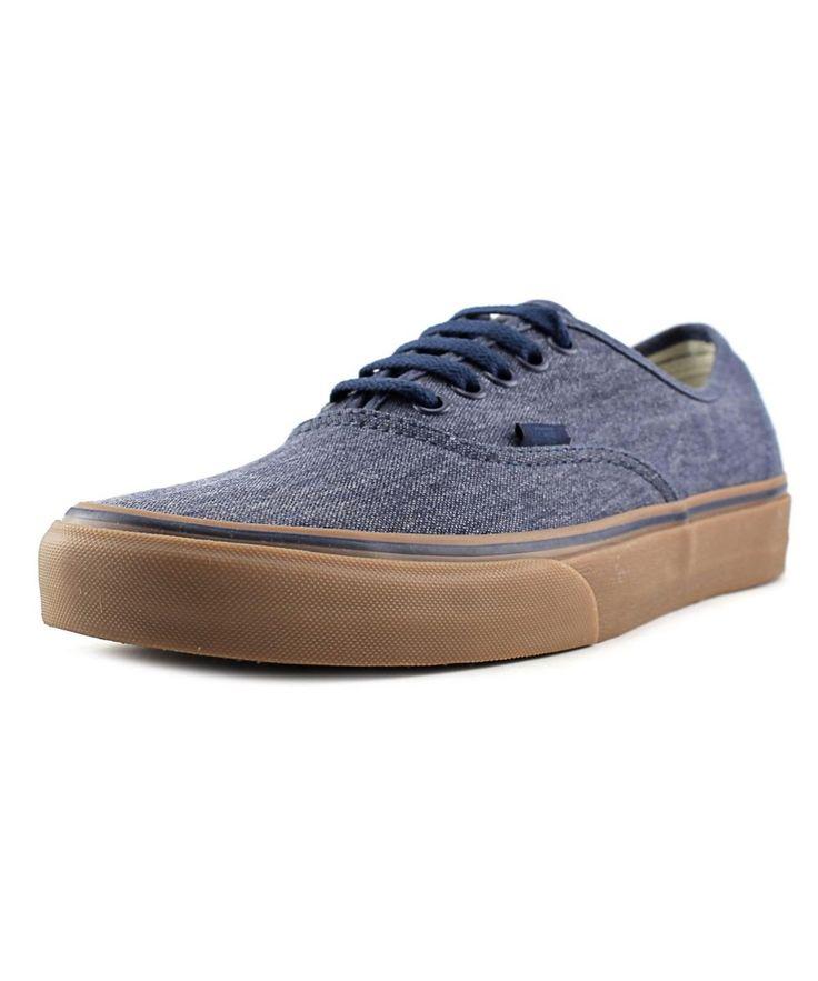 VANS Vans Authentic Men   Synthetic Blue Fashion Sneakers'. #vans #shoes #sneakers
