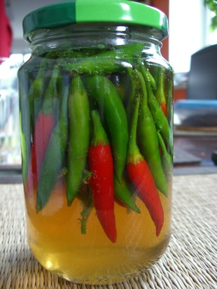 Pickled Chili Peppers | Peppers! | Pinterest