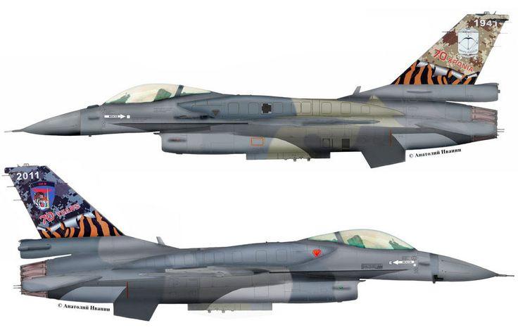 "F-16C Block52 #020 (s/n 06-0020, c/n WJ-20) from 335 Mira ""Tigris"", Hellenic Air Force - HAF. Anniversary 70 sqn.335. AB Araxos. October 2011."