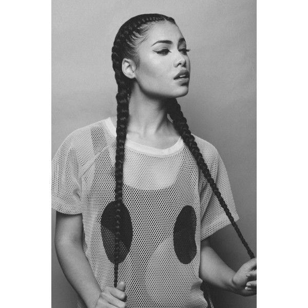 Long Cornrows ❤ liked on Polyvore featuring accessories, hair accessories and hair