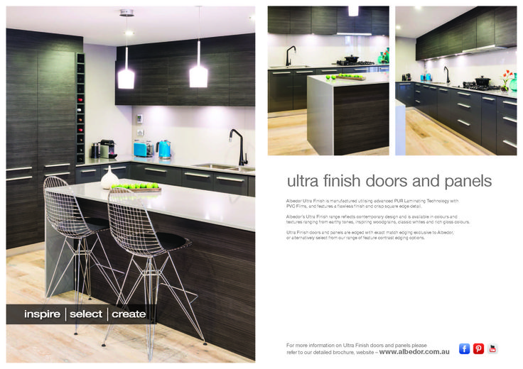 Ultra Finish Mini Brochure. If you would like to view or download our Brochure just click on the link below-   http://www.albedor.com.au/images/downloads/brochures/2014_ultra_finish_mini_brochure.pdf