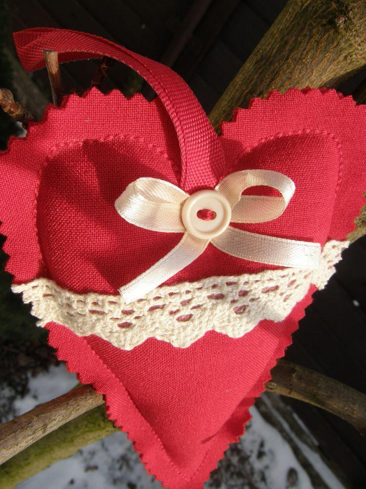 Srdce v červenom