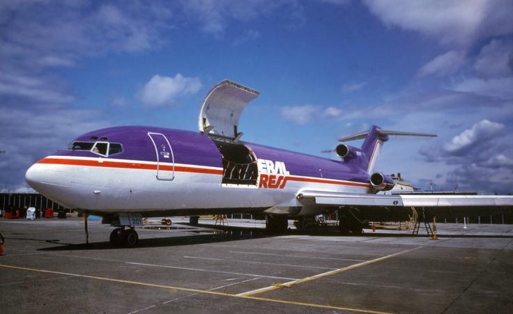 A closer look at the FedEx #B727