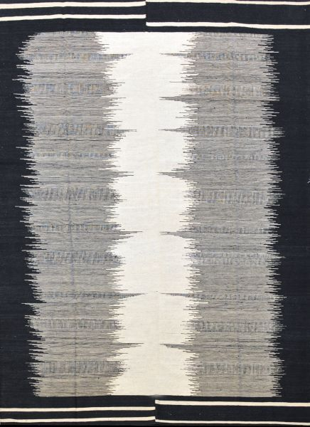 Our Blurred Lines range of handwoven wool Kilims is an exciting and revolutionary departure from our traditional tribal, linear and geometric style flat woven Kilims. Very modern and totally unique