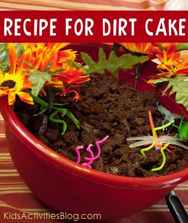 Recipe for dirt cake