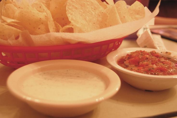 Chuy's Creamy Jalapeno dip - BEST EVER.