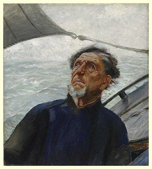 'Fisherman', 1880 - Christian Krohg