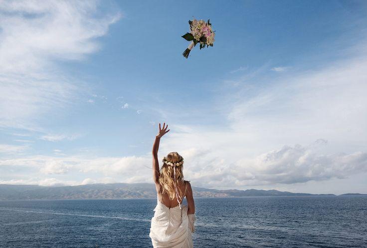 Wedding in Hydra island. #wedding #bride #destinationwedding